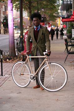 A Designer and His Fixed Gear