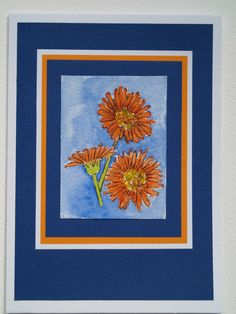 Gerbera Card by Phoenix Projects