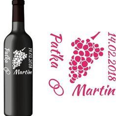 Svadobná etiketa Zoe Red Wine, Alcoholic Drinks, Glass, Drinkware, Corning Glass, Liquor Drinks, Alcoholic Beverages, Liquor, Yuri