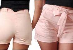 DIY Como hacer un short para mujer - Women Shorts Shorts Outfits Women, Short Outfits, Short Dresses, Diy Pantalones Cortos, Patterned Shorts, Jeans, Polyvore, Clothes For Women, Womens Fashion