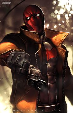 Red Hood by alex-malveda.deviantart.com on @DeviantArt