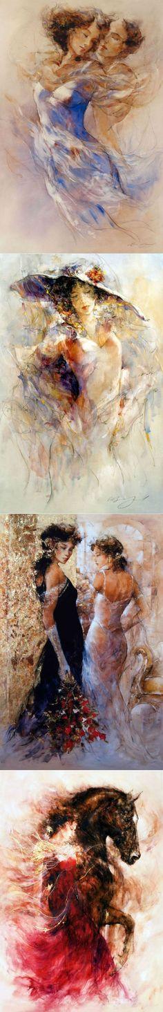 Люблю тебя, не зная, кто ты… Художник Gary Benfield | Современное искусство | искусство | Постила