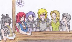 Jaune:Help Me! Blake:Your on your own brother