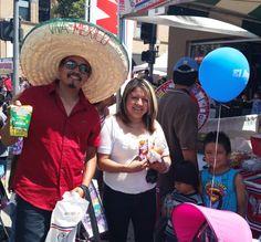 We had a blast at the largest Santa Ana Cinco de Mayo festival! For recipe inspiration using Mahatma Rice, click on the photo.
