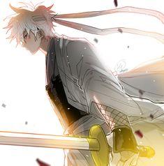 KG(케이지) Sakamoto Tatsuma, Anime Ninja, Knight Art, Okikagu, Cool Art Drawings, Cool Wallpaper, Anime Guys, Haikyuu, Samurai