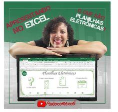 APRESENTANDO NO EXCEL - O QUE SÃO PLANILHAS ELETRÔNICAS?  Já pensou em utilizar o Excel para realizar uma apresentação? Na aula de hoje vou contar sobre o que são Planilhas Eletrônicas, quando surgiram, quais os tipos existentes e qual é o dia da Planilha, tudo isso dentro do próprio Excel!  🔗 https://youtu.be/PNZPa5I9PSg #excel #planilha #tudocomexcel #MSEXCEL #office