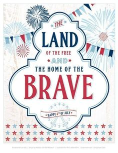 """FREE Printables: """"All-American County Fair"""" July Party // Hostess with the Mostess® 4th Of July Celebration, 4th Of July Party, July 4th, October, Doodle, July Quotes, Happy Birthday America, Let Freedom Ring, Patriotic Party"""