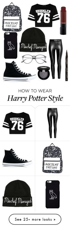 """Beanie"" by xblueburry on Polyvore featuring Warner Bros., Boohoo, Rouge Bunny Rouge, Smith & Cult and Converse"