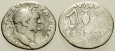 Item specifics     Ruler:   Vespasian   Composition:   Silver     UPC:   Does Not Apply       005. Roman Silver Coin. VESPASIAN. AR Denarius. Implements. Fine  Price : $21.50  Ends on : Ended Order Now