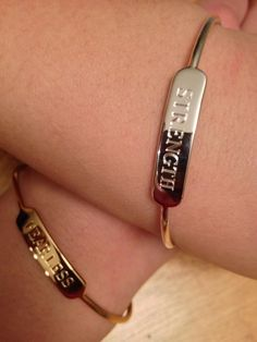 Signature Engravable Bar Cuff by Stella & Dot