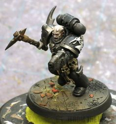Welcome to From the Warp, your source for modeling and painting info in the Warhammer universe. Figurine Warhammer, Warhammer Art, Warhammer 40000, Salamanders 40k, Black Armor, Deathwatch, Black Space, Bone Color, Black Dragon