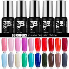 2017 La Venta Caliente Empapa de UV Gel Esmalte de Uñas de Color Rosa Serie de Color Esmalte de Uñas de Gel Del Arte Del Clavo de Manicura de Gel de Colores laca