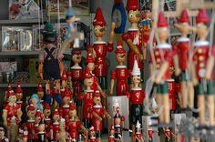 Collodi the city of Pinocchio