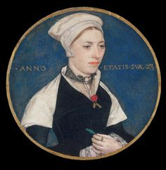 Jane Small (at the age of 23) (c.1540) by Hans Holbein the Younger