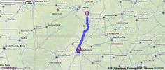 Driving Directions from Memphis, Tennessee to Du Quoin, Illinois | MapQuest