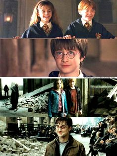 Until the end - Harry Potter