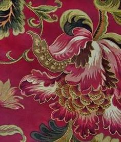 Swavelle / Mill Creek Noblesse Ruby Fabric