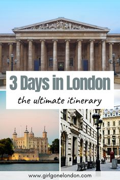 In this 3 day London itinerary, I'm going to unpack the best things to do to maximize your time, experience classic British cuisine, get memorable family photos, and really feel like you've seen the city. Best Countries In Europe, London With Kids, London Night, London Attractions, Things To Do In London, Beautiful Places To Visit, London Travel, Study Abroad, So Little Time