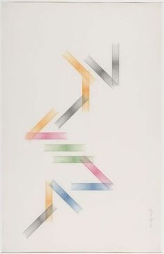 Works on paper by Guy de Cointet