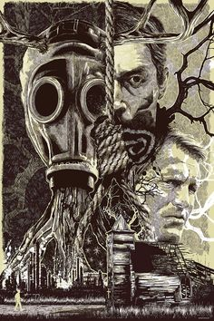 "True Detective ""Lost Carcosa"" by Anthony Petrie #TrueDetective"