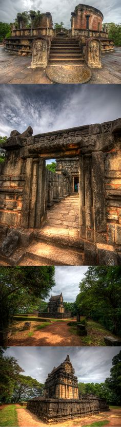 Ancient city of Polonnaruwa, Sri Lanka #SriLanka #Polonnaruwa #HDR