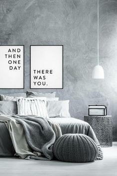 Cozy neutral bedroom |minimalistbedroom |neutral |bedroomdecor |homedecor | aff |black-and-white
