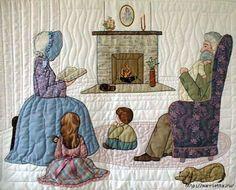 Лоскутное шитье и аппликация. Журнал Bonnet Girls (20) (585x471, 160Kb)