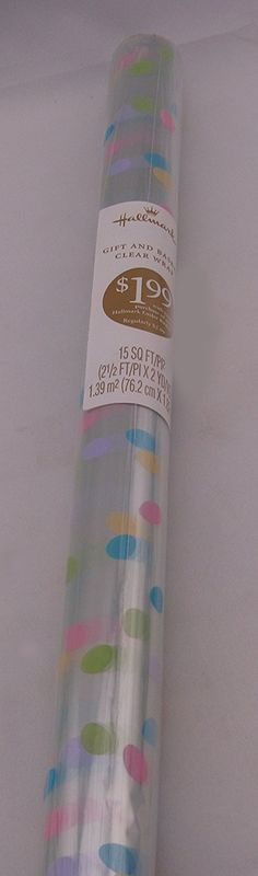 Red cellophane wrap 30 inches x 5 feet check out this great hallmark ear2302 pastel easter egg clear wrap on roll check out the image by visiting negle Choice Image