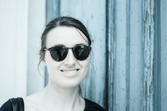 © Luisa Possi Sunglasses, Girl, Foto-Shooting, Outdoor, Italy, Lago Maggiore, Italien, Italia