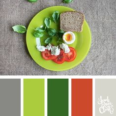 30 Color Palettes Inspired by the Pantone Spring 2017 Color Trends Colour Schemes, Color Trends, Color Combinations, Green Colour Palette, Color Palettes, Color Balance, Colour Board, Pantone Color, Spring Colors