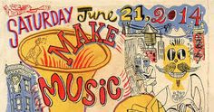 Image result for make music new york posters