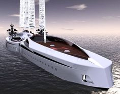 Yacht Albatross, Tarun Sharma, yachts de luxe, Albatros Yacht, notion yacht, les futurs véhicules, un véhicule futuriste