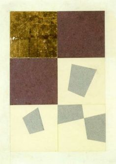 Geometric Collage - Jean ArpCompletion Date: 1916 Style: Dada Genre: abstract painting Dimensions: 33 x 24.25 cm