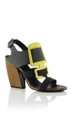 Pierre Hardy Vertebra Sandal by cristina