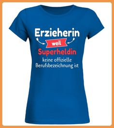 Erzieherin Superheldin (*Partner Link)