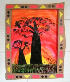 Présentation Baobab Brocoli - Visual steps for creating this baobab tree Le Baobab, Baobab Tree, Recycling Projects For School, Projects For Kids, Africa Craft, Afrique Art, Animal Art Projects, African Theme, Globe Art