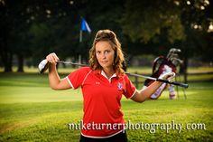 senior girl pose, golf pose #senior | http://www.miketurnerphotography.com/blogpics/Cool_golf_senior_pictures_2_Mike_Turner_Photography.jpg