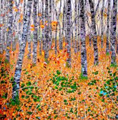 Deep in the woods, Angie Wright