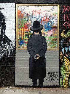 MELROSEandFAIRFAX: Orthodox Jews and Street Art