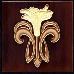 wonderful Art Nouveau tile