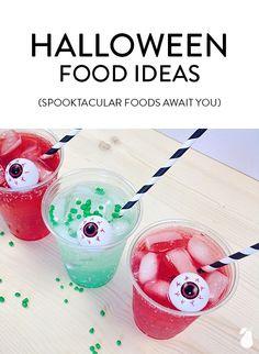 Spooktacular Halloween food ideas await you!