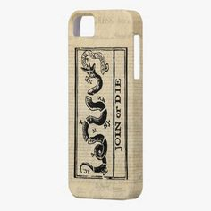 It's cool! This Join Or Die Woodcut on Declaration of Independence iPhone 5 Cover is completely customizable and ready to be personalized or purchased as is. Click and check it out!