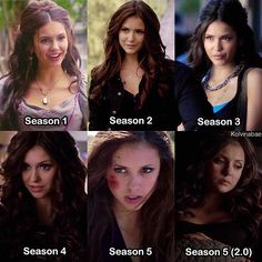 {Katerina Petrova aka Katherine Pierce} • I love Katherine so much, she is my favorite character and I cried so much when she died Which Katherine did you like the most? • #katherinepierce #katerinapetrova #ninadobrev #tvd #thevampirediaries