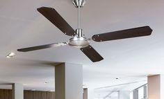 Consejos para decorar con ventiladores de techo - https://www.decoora.com/consejos-decorar-ventiladores-techo/