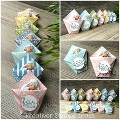 I made these Easter 2017 Stampin Up, Creative Box, Envelope Punch Board, Diy Cards, Craft Fairs, Little Gifts, Easter Crafts, Homemade Gifts, Diy And Crafts