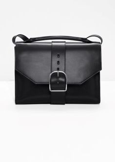 Other Stories   Buckle Leather Shoulder Bag Sac, Sac À Bandoulière En Cuir, 9e218aa7acb2