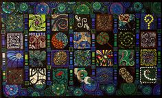 Swirlendipity I by Lin Schorr, via Flickr