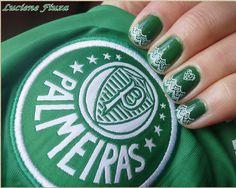 Unhas decoradas Palmeiras
