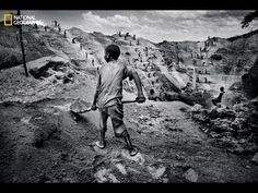 """The latest issue of National Geographic magazine, the Anniversary Collector's Edition """"Photography Issue,"""" explores the role conflict minerals play in the violence in eastern Congo. Human Rights Day, Human Rights Watch, National Geographic Photographers, The Ugly Truth, Tsunami, Photojournalism, First World, Mount Rushmore, Pictures"""