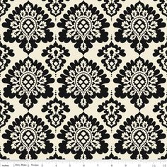 Lost & Found Christmas: Damask Black